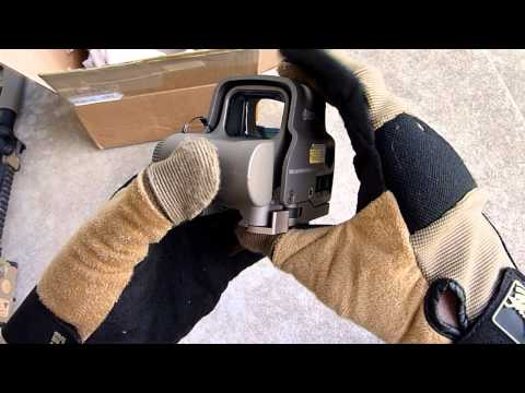 EOTech EXPS3-0TAN Holographic Weapon Sight Unboxing