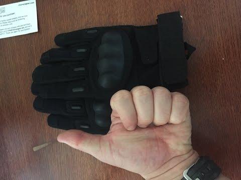 TitanOPS Full Finger Hard Knuckle gloves review