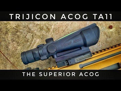Trijicon ACOG TA11 | 3.5x Power of Fury - The Superior ACOG