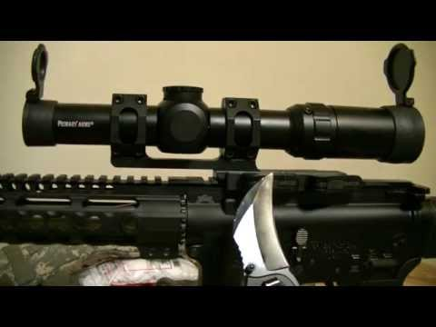 Primary Arms 1-4x Scope and ADM Recon EXT mount review..