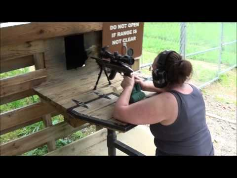 Ruger Charger Takedown w/ UTG 2-7X44 Scout Scope (Range Review)