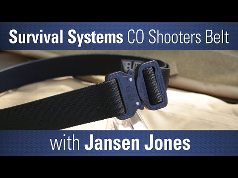 Elite Survival Systems CO Shooters Belt with Jansen Jones - Product in Focus