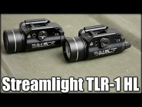 Streamlight TLR-1 HL: 800 Vs. 630 Lumens
