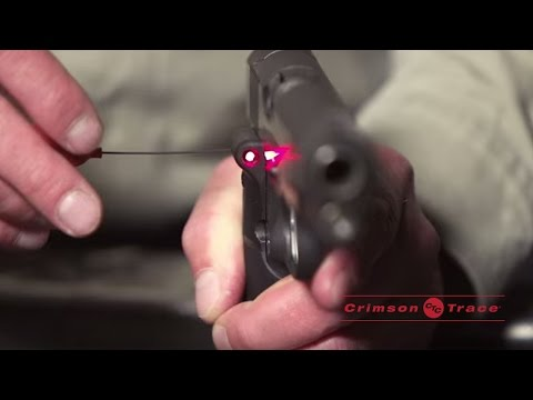 Sighting-In & Recalibrating Your Laser Sight