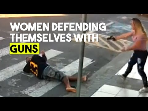 These Women Aren't So Helpless ... When They're Well Armed