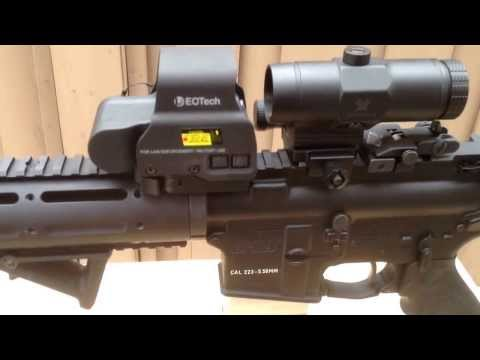 VMX3-T MAGNIFIER PAIRED WITH EOTECH.