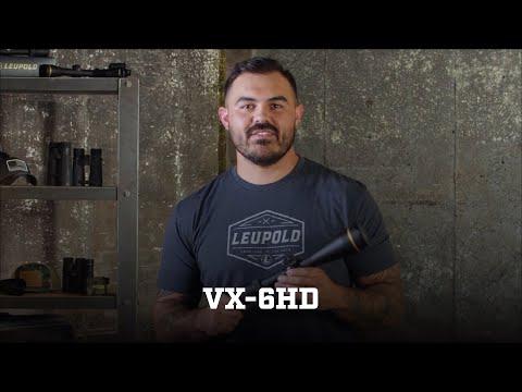 Leupold 101: VX-6HD Riflescope