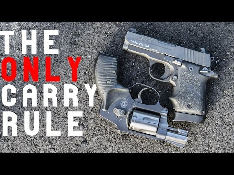 The Only Pocket Carry Rule