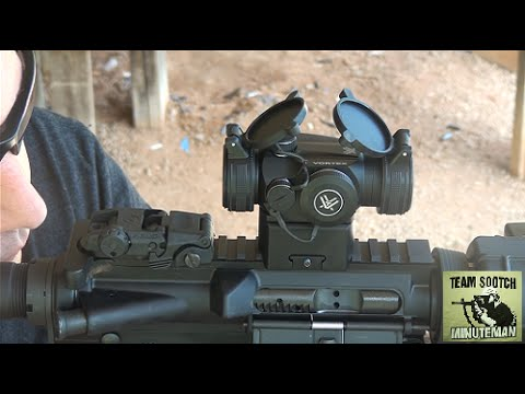 Vortex Sparc II Red Dot Scope Review