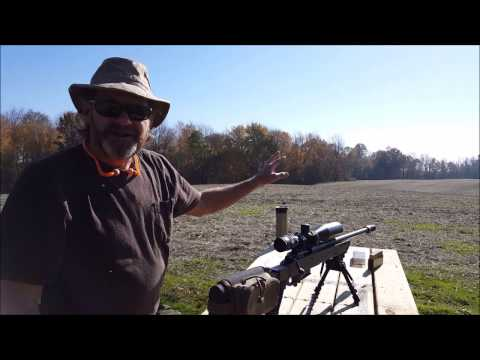 Trijicon AccuPoint 5-20X50 Review at the Range