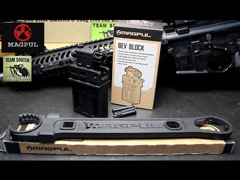Magpul AR-15 / M4 Armorer's Wrench & Bev Block