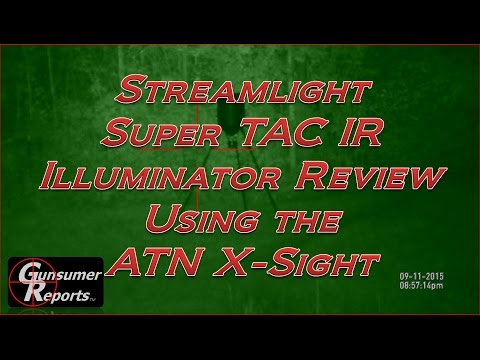 ATN X-Sight with the Streamlight Super TAC IR Review