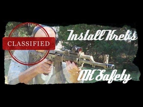 How To Install A Krebs Custom Enhanced AK-47 / AK-74 Safety (HD)