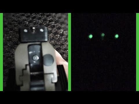 TruGlow Tritium Pro Novak Sights for a 1911