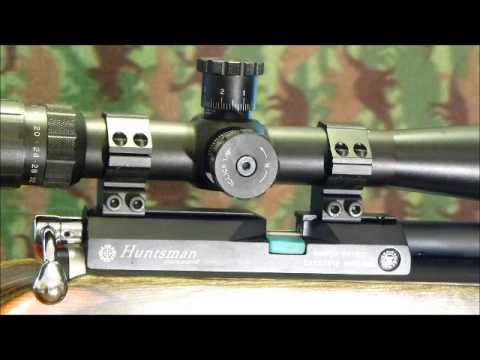 Cricket Checks out the Mueller 8-32X44 target scope