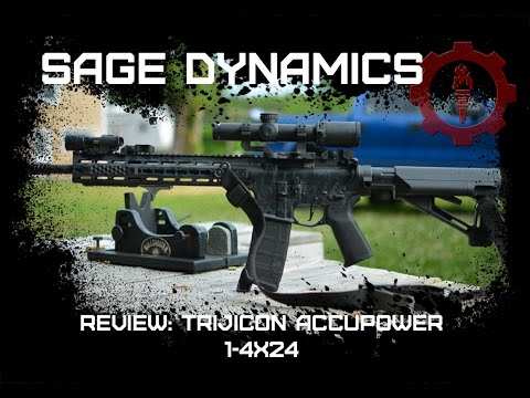 Trijicon Accupower 1-4x24 optic