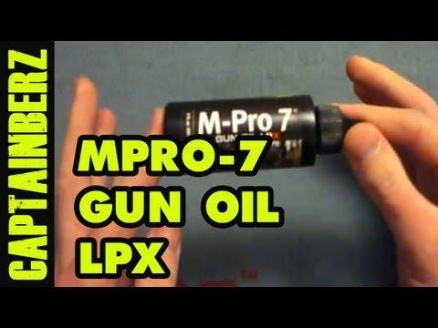 MPRO-7 LPX Gun Oil Review