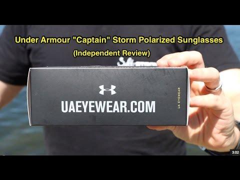 Under Armour Captain Storm Sunglasses Review