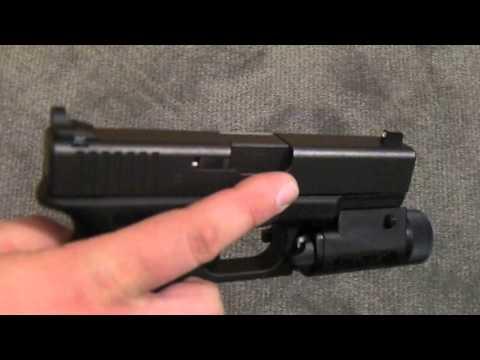 Glock 19 Upgrade - Peep Night Sights