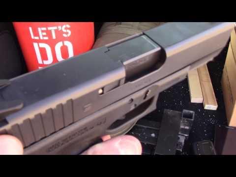 Aro-tek sights for Glock 19