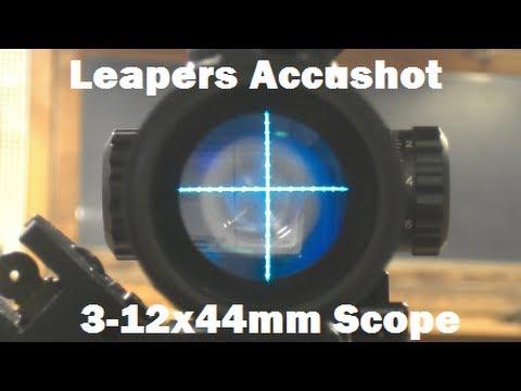 Leapers AccuShot 3-12x44mm Compact Illumination Enhancing Rifle Scope
