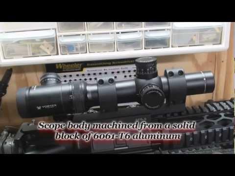 Vortex Viper PST 1-4X24mm TM/CQ MOA Scope Review