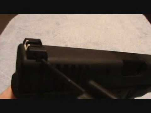 Glock adjustable and standard sights