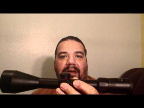 Rifle scope 3x9 option!!