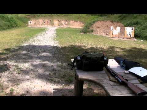 Shooting The SKS With Tech Sights Peep Sight