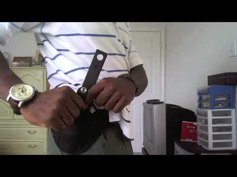 BLACKHAWK NYLON PANCAKE HOLSTER