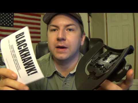 Blackhawk Serpa Concealment Holster - First Impressions