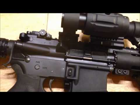 Aimpoint pro, Vortex swing mount, TMS magnifier, KAS backup sight