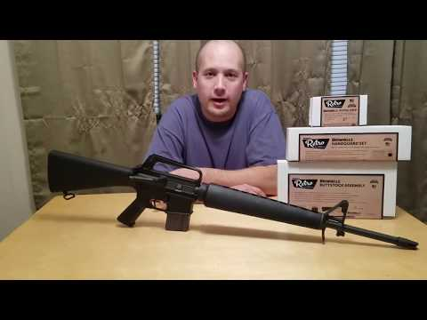 My AR-15 A1 Retro Build - Update w/ Brownell's Furniture
