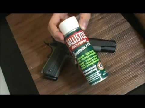 What I think of Ballistol Gun Cleaner