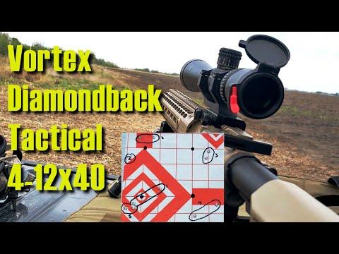 Vortex Diamondback Tactical 4-12x40 Review