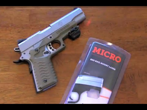 Recover Tactical upgrades your 1911 with rail system