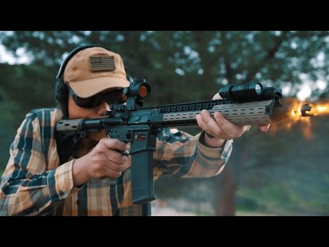 AR15 Trijicon MRO Red Dot Review