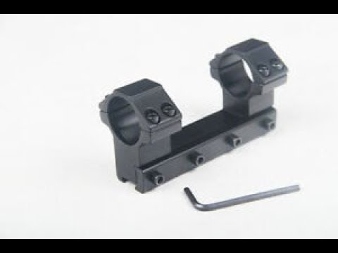 1 Piece Dovetail Scope Base Mount UNKNOWN FACTs