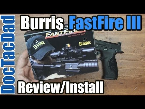 Burris FastFire III - Review - Installation on M&P9L C.O.R.E.