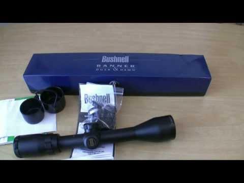 Bushnell Banner 3-9x40 BDC Riflescope