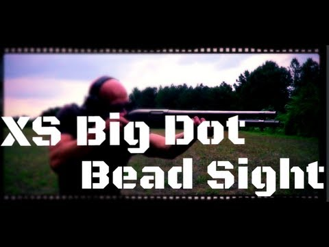 XS Big Dot 870 & 500/590 Shotgun Bead Tritium Sight Review (HD)