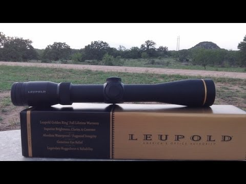 Leupold VX-R 3-9X Unboxing and Overview [HD]