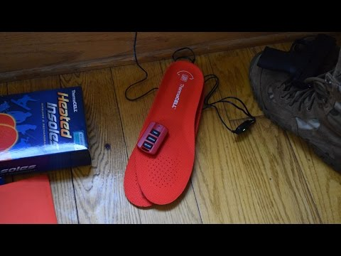 ThermaCELL Heated Insoles: Keep Warm in Winter