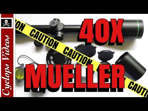 Mueller Rifle Scope Review