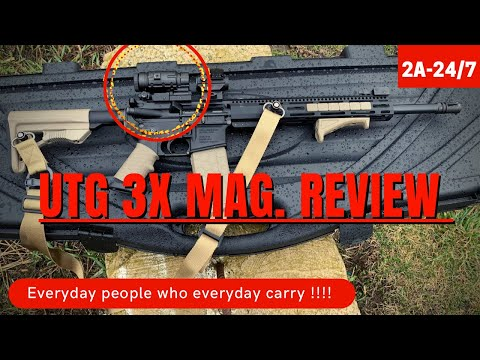 UTG flip to side 3x magnifier review
