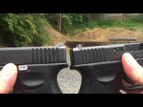 Meprolight Tru-Dot Night Sights Review on Glock 26