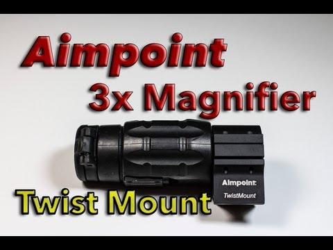 Aimpoint 3x Magnifier with Aimpoint Twist Mount