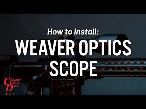 Weaver Optics Scope Mounting How-To Video