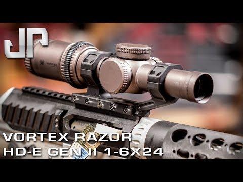 Vortex Razor HD-E Gen II 1-6x24 - New Product Showcase - JULY 2019
