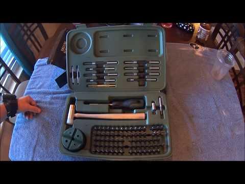 Review Weaver Deluxe Gunsmith Tool Kit 88 piece gun smith tools